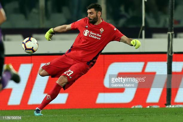 Pietro Terraciano of ACF Fiorentina in action during the Serie A match between ACF Fiorentina and SS Lazio at Stadio Artemio Franchi on March 10 2019...