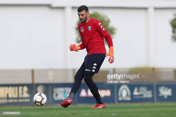 Pietro Terraciano of Empoli FC in action during training session on September 18 2018 in Empoli Italy