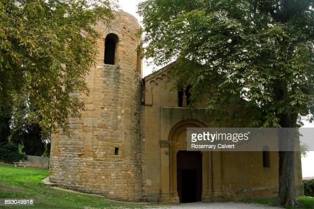 Pieve di Corsignano, ancient church near Pienza, italy.