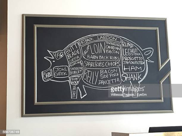 Butchers Diagram Stock Photos And Pictures Getty Images