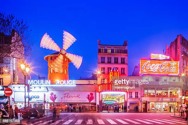Pigalle, the Moulin Rouge