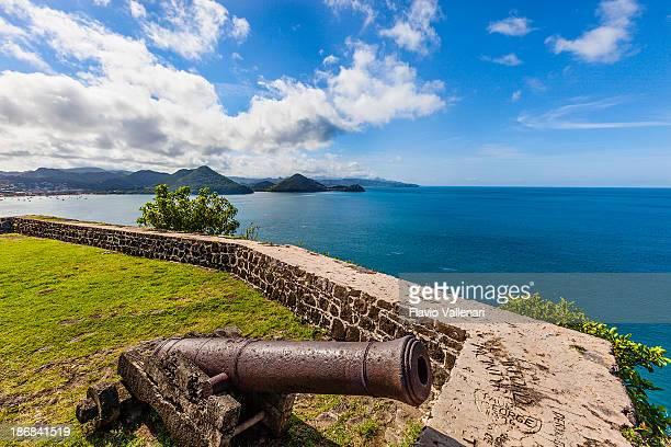 pigeon parque nacional de la isla, santa lucía - paisajes de santa lucia fotografías e imágenes de stock