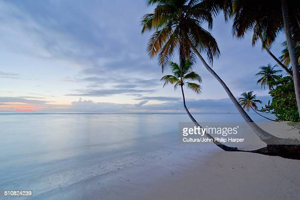 Pigeon Point beach at evening time, Tobago