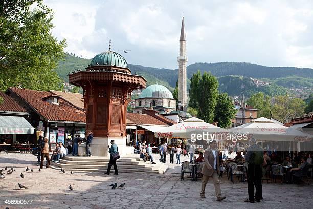 鳩正方形、Baščaršija,Sarajevo