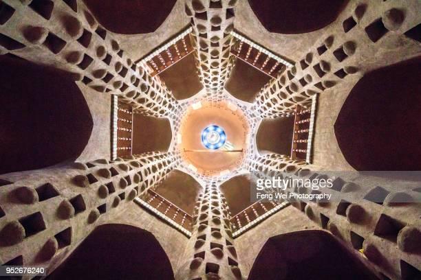 Pigeon tower (dovecote), Meybod, Yazd Province, Iran