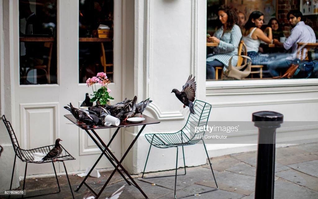 BRITAIN-ECONOMY-CULTURE-OFFBEAT : News Photo