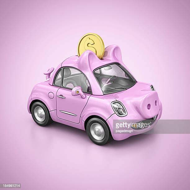 piggy bank car