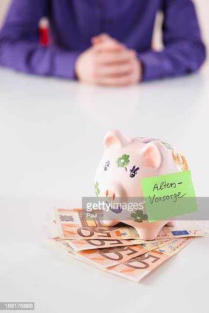 Piggy bank for pension plan