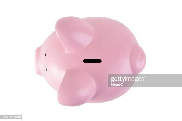piggy bank - sparschwein stock-fotos und bilder