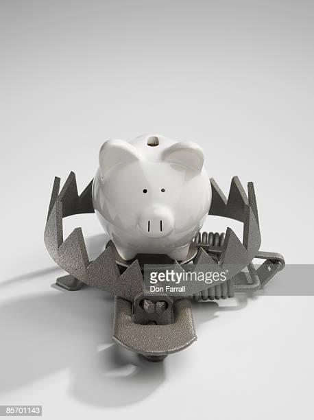 Piggy bank Trap