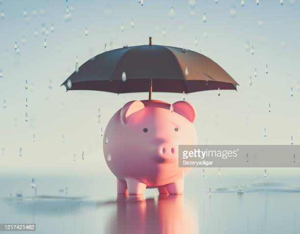 piggy bank,3d render - survival stock pictures, royalty-free photos & images