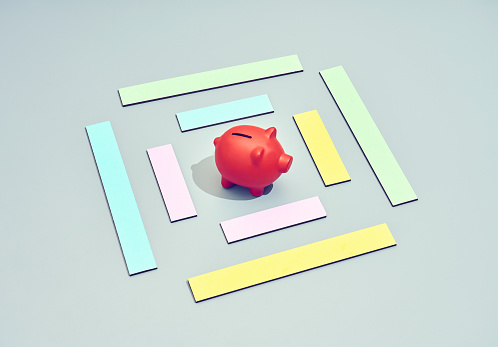 Piggy coin bank - gettyimageskorea
