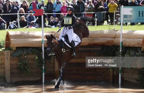 Piggy French on Vanir Kamira during day four of the 2019 Mitsubishi Motors Badminton Horse Trials at The Badminton Estate Gloucestershire