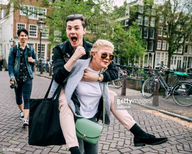 Piggyback In Amsterdam