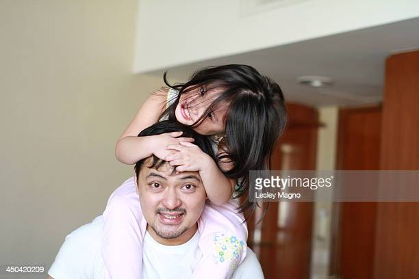 Piggybacking with uncle