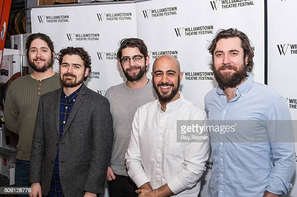 PigPen actors Dan Weschler Ben Ferguson Curtis Gillen Arya Shahi and Alex Falberg attend the Williamstown Theatre Festival 2016 Annual Benefit City...