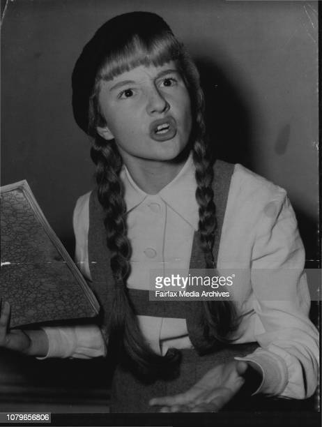 PigTailed Star A girl who four weeks ago was a pig tailed school girl yesterday signed a contract to take the lead in The Diary of Anne FrankIn those...