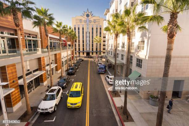 pike shopping center in long beach, ca - long beach california stock photos and pictures
