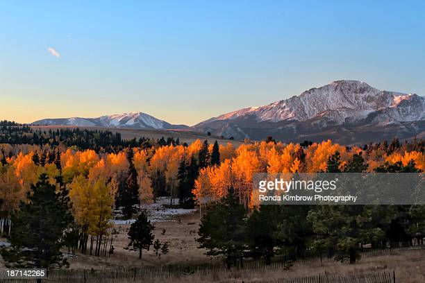 Pikes Peak in the Fall
