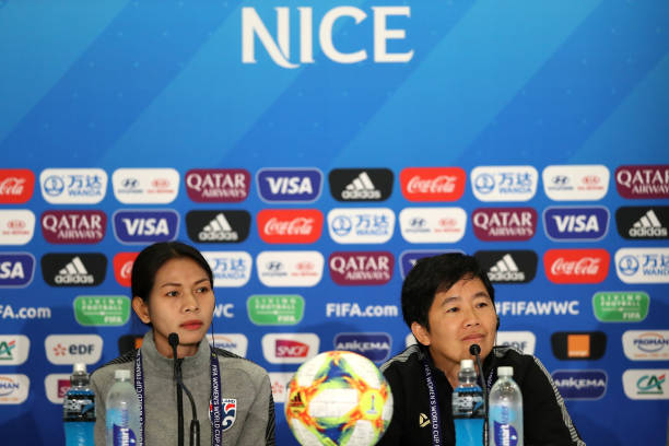 FRA: Thailand Press Conference - FIFA Women's World Cup France 2019