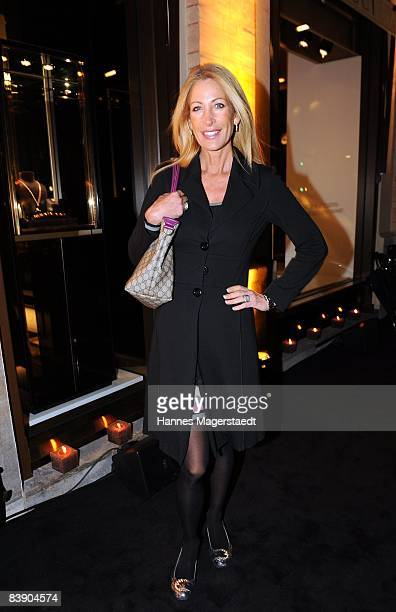 Pilar Brehme attends the Gucci Store Opening in Munich on December 3 2008 in Munich Germany
