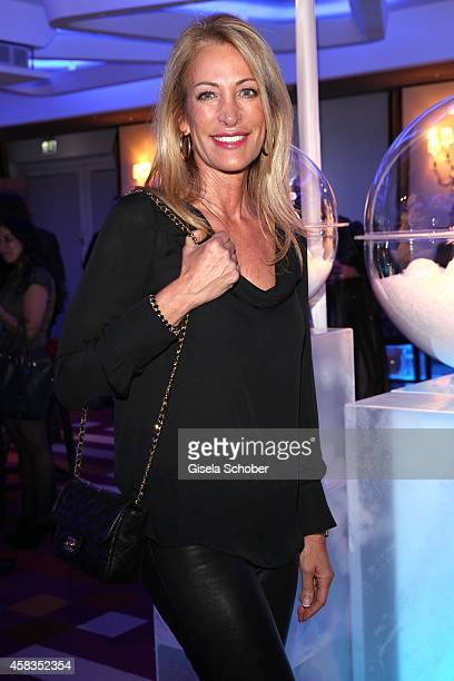 Pilar Brehme attends the 'Haute Couture Connection' Cocktail Prolonge at Hotel Vier Jahreszeiten on November 3 2014 in Munich Germany