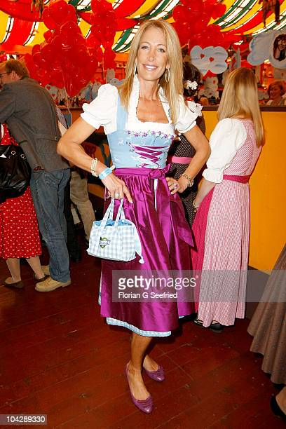 Pilar Brehme attends the 'Sixt Damenwiesn' during the Oktoberfest 2010 at Hippodrom at Theresienwiese on September 20 2010 in Munich Germany