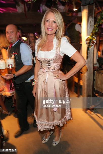 Pilar Brehme during the 'Almauftrieb' as part of the Oktoberfest 2017 at Kaeferschaenke Tent on September 17 2016 in Munich Germany
