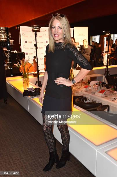 Pilar Brehme during the 'DKMS Life Charity Ladies Lunch' at Tantris Restaurant on February 7 2017 in Munich Germany