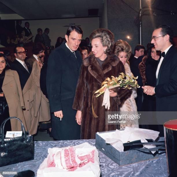 Pilar de Borbon with her husband Luis Gomez de Acebo