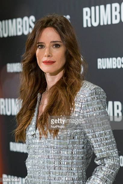 Pilar Lopez de Ayala attends 'Rumbos' photocall at NH Collection Eurobuilding Hotel on June 9 2016 in Madrid Spain