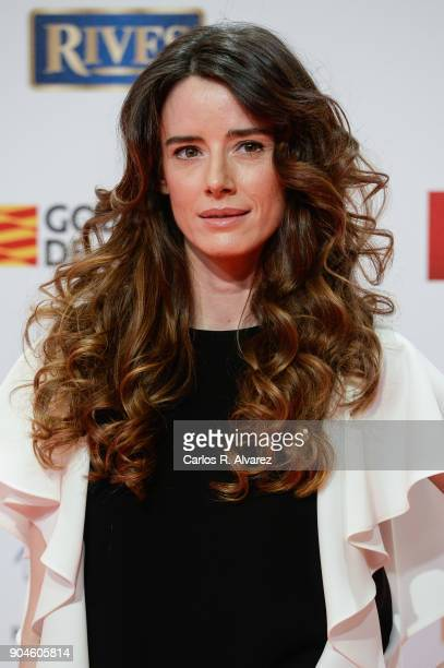 Pilar Lopez de Ayala attends the 23rd edition of Jose Maria Forque Awards at Palacio de Congresos on January 13 2018 in Zaragoza Spain