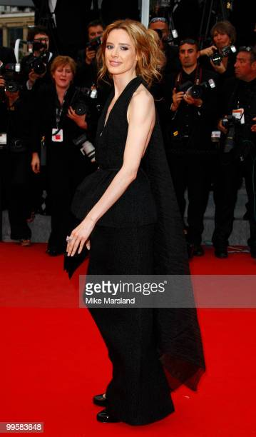 Pilar Lopez de Ayala attends the 'You Will Meet A Tall Dark Stranger' Premiere held at the Palais des Festivals during the 63rd Annual International...