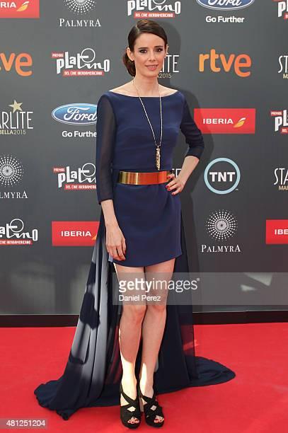 Pilar Lopez de Ayala attends TNTLA Platino Awards 2015 at Starlight Marbella on July 18 2015 in Marbella Spain