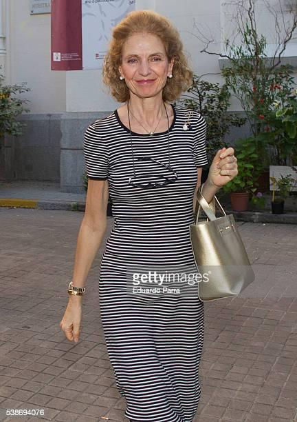 Pilar Medina Sidonia attends the Marquesa de San Eduardo funeral at La Concepcion de nuestra Senora church on June 7 2016 in Madrid Spain