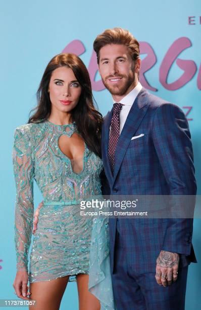 "Pilar Rubio and Sergio Ramos attend ""El Corazon de Sergio Ramos"" premiere at the Reina Sofia museum on September 10, 2019 in Madrid, Spain."