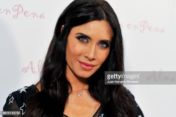 Pilar Rubio attends 'Alma En Pena' new opening store on December 14 2017 in Madrid Spain