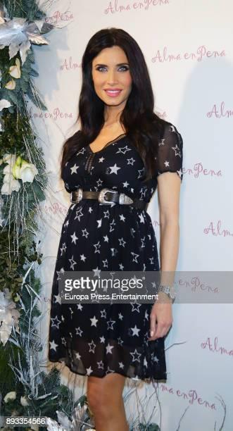 Pilar Rubio attends 'Alma En Pena' new opening store on December 14 2017 in Madrid Spain