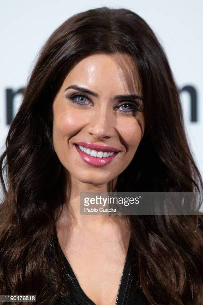 Pilar Rubio attends Amazon Pop-Up opening at Callao City Lights cinema on November 27, 2019 in Madrid, Spain.