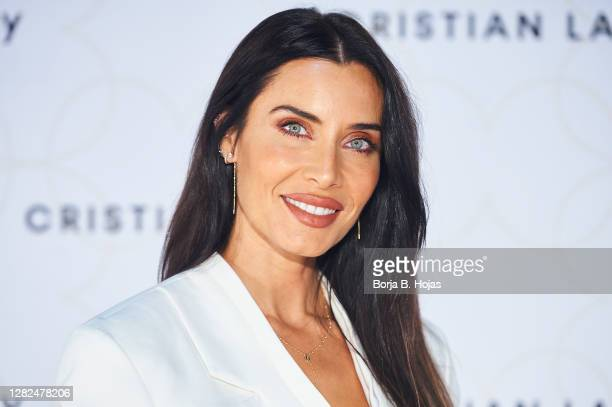 Pilar Rubio attends Cristian Lay photocall on October 27, 2020 in Toledo, Spain.