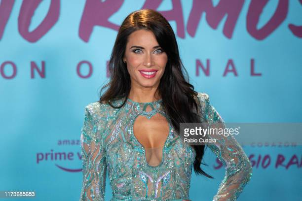 Pilar Rubio attends El Corazon de Sergio Ramos premiere at the Reina Sofia museum on September 10 2019 in Madrid Spain