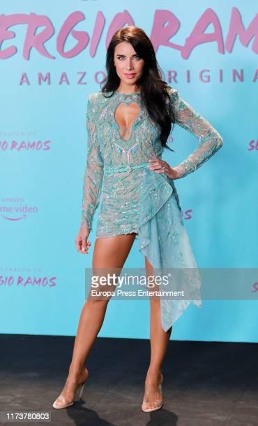 "Pilar Rubio attends ""El Corazon de Sergio Ramos"" premiere at the Reina Sofia museum on September 10, 2019 in Madrid, Spain."