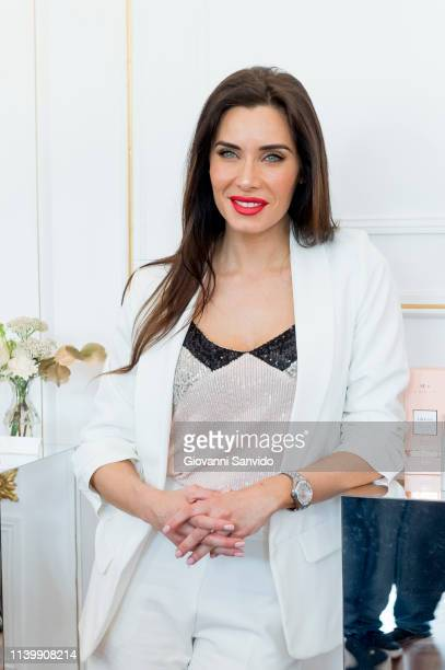 Pilar Rubio attends MY Yebenes presentation at Italian Embassy on April 02 2019 in Madrid Spain