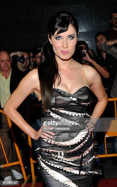 Pilar Rubio attends the premiere of 'The Road' at the 42nd Sitges Film Festivall on October 11, 2009 in Barcelona, Spain.