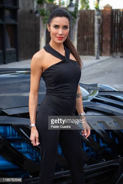 Pilar Rubio attends the Warner Bros beach opening on June 13 2019 in Madrid Spain