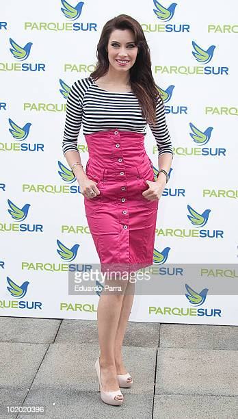 Pilar Rubio attends Veranoterapia photocall at Parquesur Mall on June 12 2010 in Leganes Spain