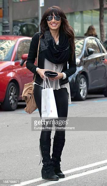 Pilar Rubio is seen on December 27 2012 in Madrid Spain