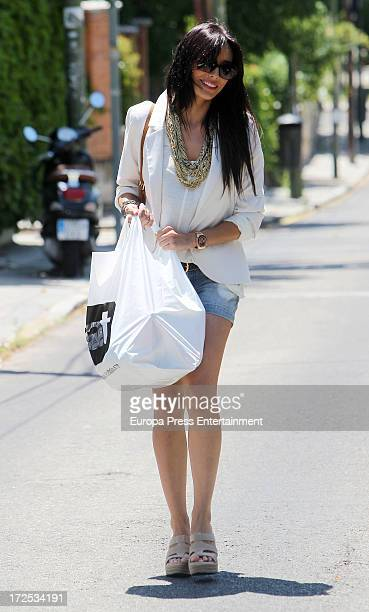 Pilar Rubio is seen on July 2 2013 in Madrid Spain