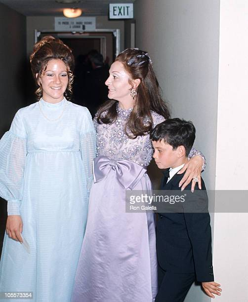 Pilar Wayne and children during 42nd Annual Academy Awards - Governor's Ball at Beverly Hilton Hotel in Beverly Hills, California, United States.