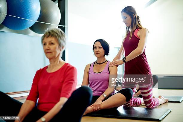 Pilates for all ages and flexibility ranges